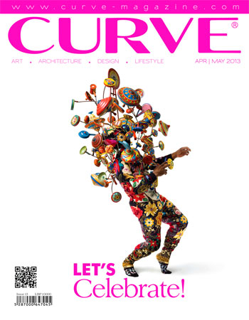 CURVE magazine cover April/May 2013