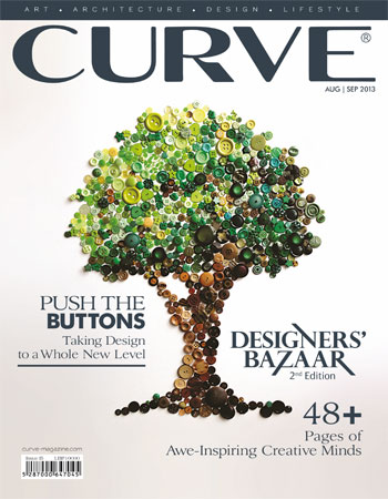 CURVE magazine cover August/September 2013