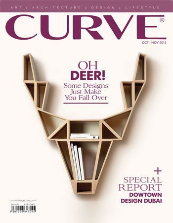 CURVE magazine cover October/November 2013