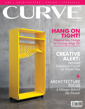 CURVE magazine cover August/September 2015