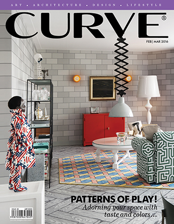 CURVE magazine cover February/March 2016