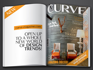 A unique publication, Curve brings you the essence of creativity while  giving you an insight into the art and design world, featuring the latest  innovations ...